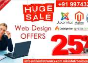 GET 25% OFF FOR WEBSITE DEVELOPMENT