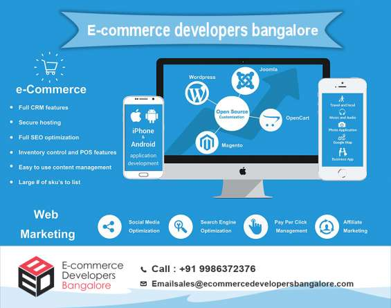 Ecommerce developers bangalore