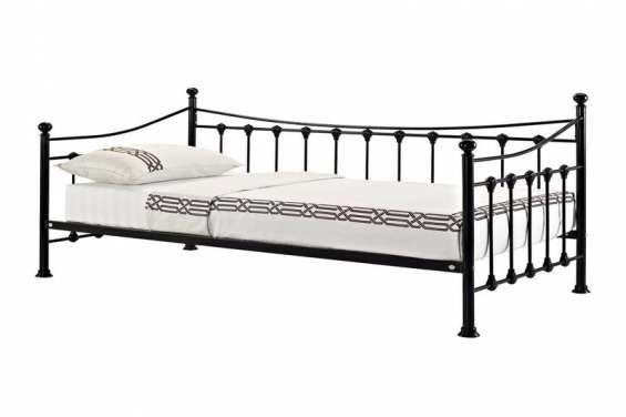 Versailles strong metal frame french day bed (2)