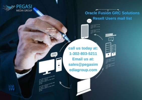 Oracle fusion grc solutions resell users email list in uk/usa/canada