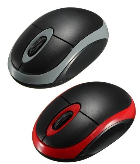 Wireless optical mouse - online sale