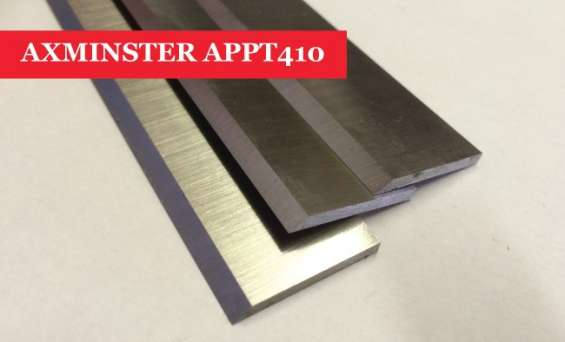 Axminster appt 410 planer blades knives - set of 3 online