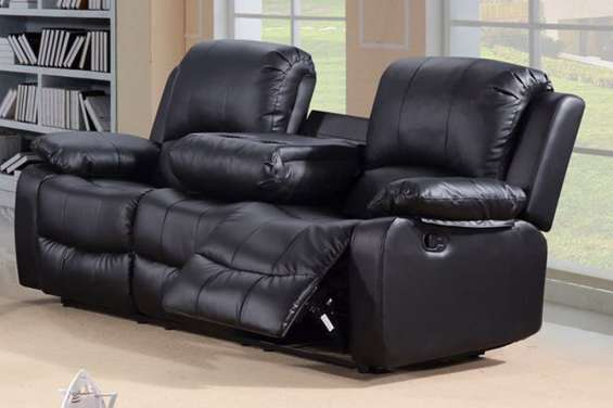 Acquire toro 3 seater recliner leather sofa at reasonable price