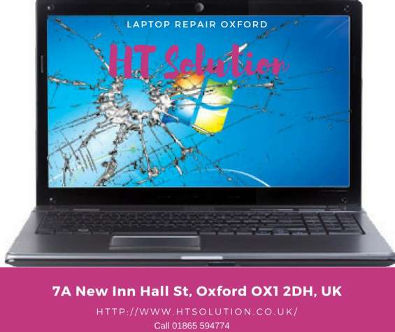 Laptop repairs oxford- ht solution