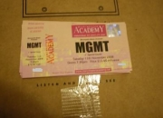 MGMT TICKETS MANCHESTER ACADEMY 11th November