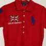 Ralph Lauren British Flag Big Pony Skinny Fit Sports Polo