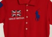 Ralph lauren british flag big pony skinny fit sports polo