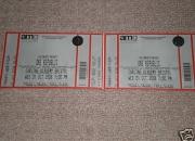 2 x One Republic Tickets Bristol Wed 1 Oct 08