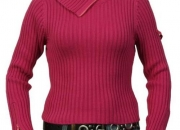 DKNY trendy roll-neck sweater at Designer Clothes Online
