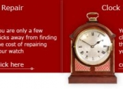Clock watch repair services