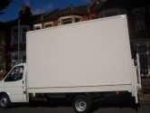 Man with large luton van