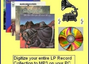 Copy vinyl lps & tapes to pc mp3 or ipod
