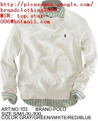 Hot sell ,fashionable branded sweater