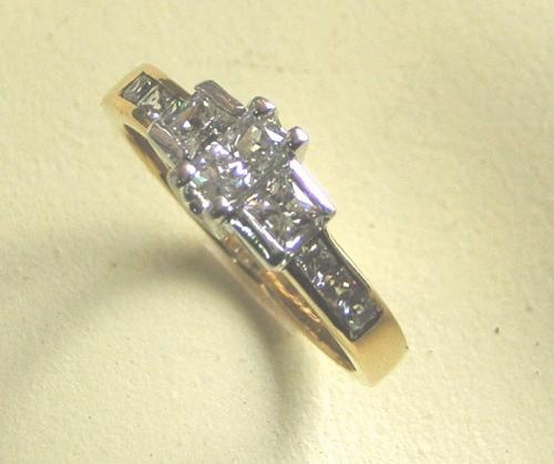 Gold ring and silver for export
