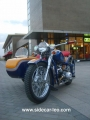 Leo's cj750 sidecar shop