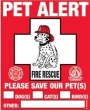 Don't Leave Your Pets Home Without Pet Alert Decals!