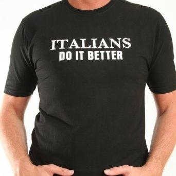 Cavallaro italians do it better t-shirt on designer clothes online