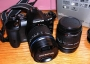 Olympus E-510 digital Srl camera with dual kit lenses