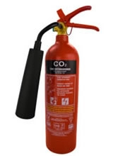 2kg co2 fire extinguisher with ten year warranty
