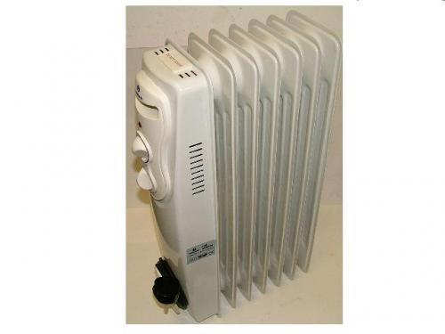 Marksman oil filled radiator 1500w £35.99