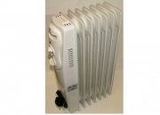 Marksman oil filled radiator 1500w £35.99