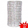 Pink Lilac Beaded Lampshade £4.00