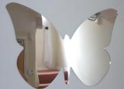Shatterproof butterfly big wings mirror -30x40cm  £18.99