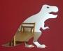 Shatterproof Dinosaur T-Rex Mirror -30x40cm  £20.99