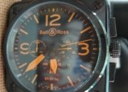 BELL & ROSS  BR01-94 chronograph watch