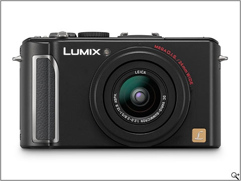Panasonic lumix ia intelligent camera dmc-lx3 (black)