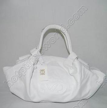 Loewe nappa aire réplica de plata bolso de cuero lw-38138-12