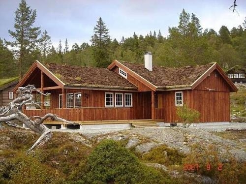 Norwegian log cabins