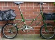 Moulton bicycle am jubilee l - 1998. plus bags etc
