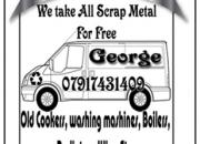 Free scrap metal collection in surbiton, kingston , surrey