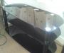 Sleek Glass TV Table