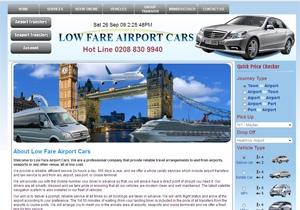Cheap london airport taxi
