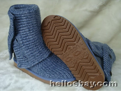 Ugg women's classic cardy blue