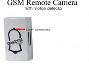 GSM Remote Camera with motion detector