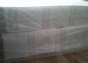 Double divan orthopaedic  bed