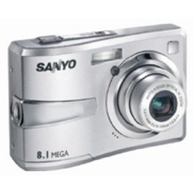 Sanyo vpc-s870 digital camera