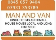 Kings cross man and van hire,fm £25 p/h all inc & free congestion toby.07931353789