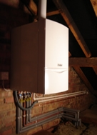 Pictures of New boiler installation north london 2