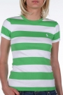 Ralph Lauren green and white striped