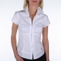 Guess Bustier Cut Puff Sleeve Shirt