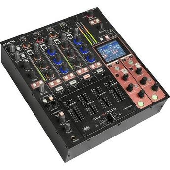 For sale brand new:denon dj dn-x1700 4-channel digital dj mixer with effects and midi co