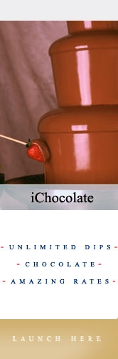 Ichocolate chocolate fountains are based in east london,chocolate fountains for hire