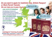 Pass esol with citizenship test at accredited centre, for british passport or indefinite