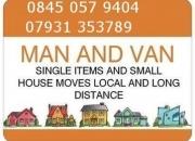 Angel islington removal man and van hire,fm £25ph
