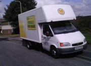 Merseyvanman Van hire with a Driver