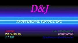 Professional decorating and building service for you